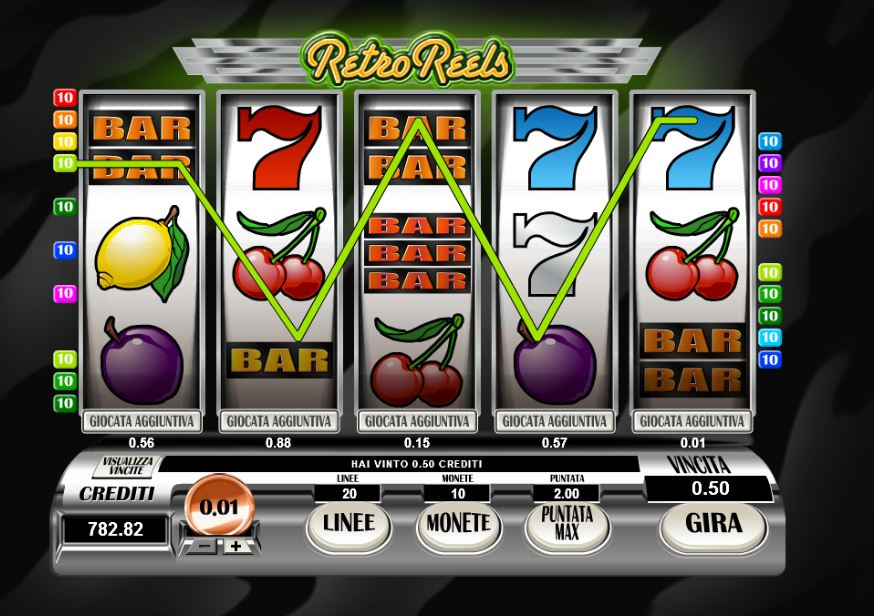 online slot machine games casinos online